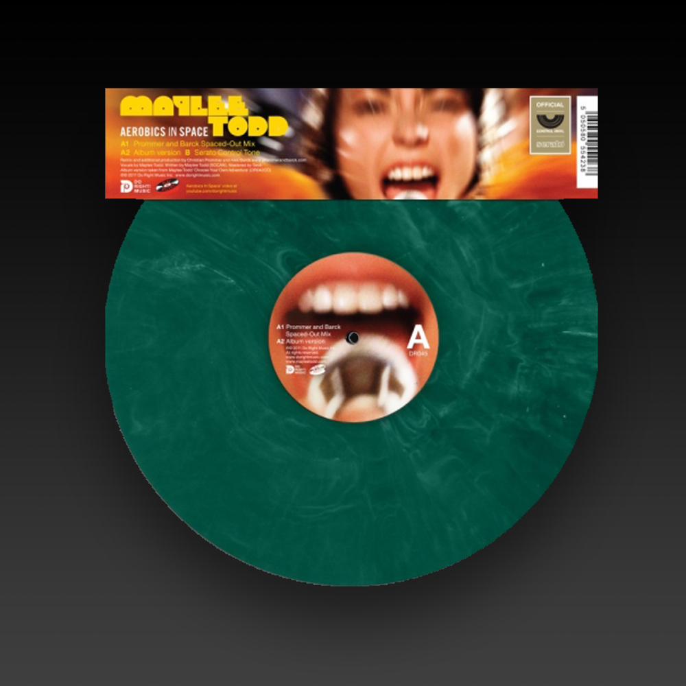 DO RIGHT! MAYLEE TODD SERATO PRESSING (JADE GREEN) 12