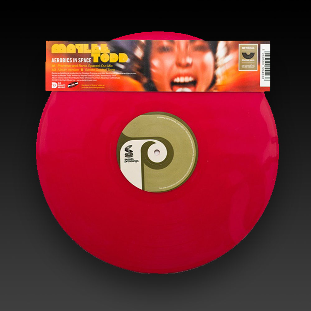 DO RIGHT! MAYLEE TODD SERATO PRESSING (RED) 12