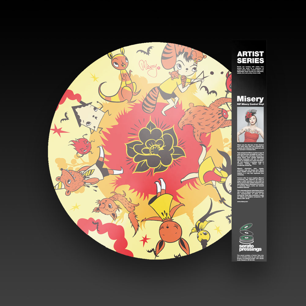 SERATO MISERY PICTURE DISK - ARTIST SERISE 12